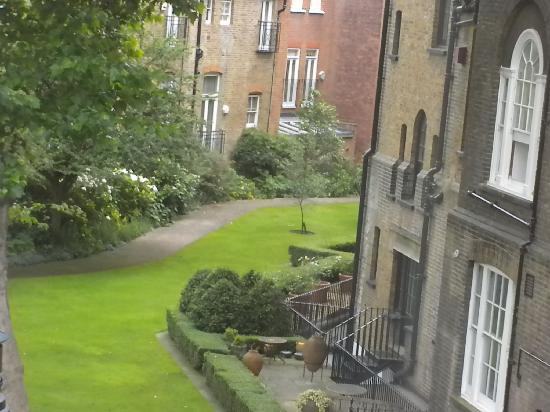 Egerton House Hotel: The view from my window!