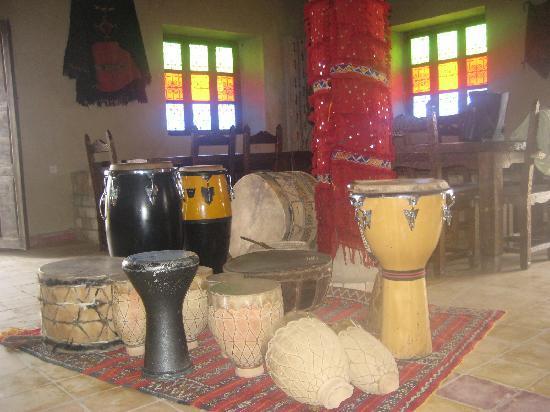 Auberge Kasbah Leila: strumenti per la festa