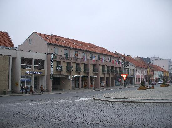 Grand Hotel: Hotel on the main square