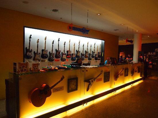 Hard Rock Hotel Pattaya : reception