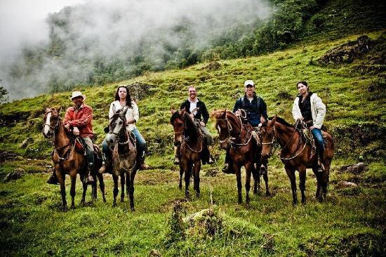 Horseback riding in Jardin, Southwest of Medellin