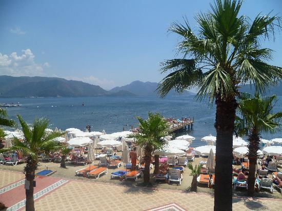 Hotel Emre: view from emre beach