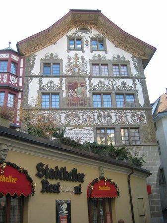 Stadtkeller Swiss Folklore Restaurant: Stadtkeller Lucerne