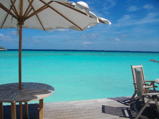 Paradise Island Resort & Spa: Vue depuis le bar