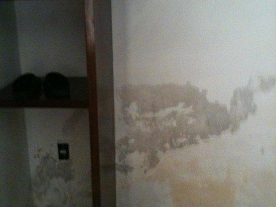 Hotel Villa Florencia : desperfectos en la habitación
