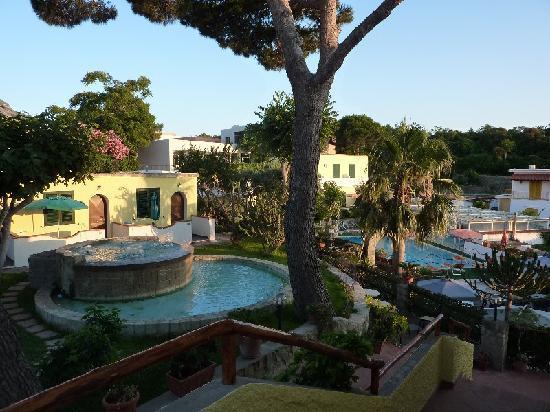 Hotel Villa Hibiscus : scorcio villa