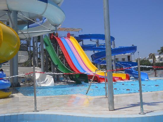 Anastasia Beach Hotel: Waterpark adjacent to Hotel (Free to Thomas Cook Customers)