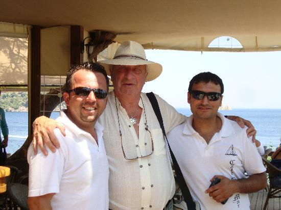 Cafe del Mar : Bill with Akif and Devrim