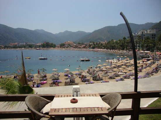 Cafe del Mar : The view of Icmeler