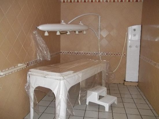 Radisson Blu Ulysse Resort & Thalasso Djerba: douche à affusion