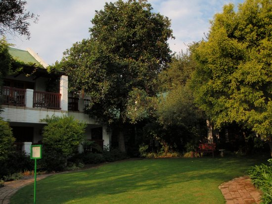 Rivonia Bed & Breakfast: Lower Garden