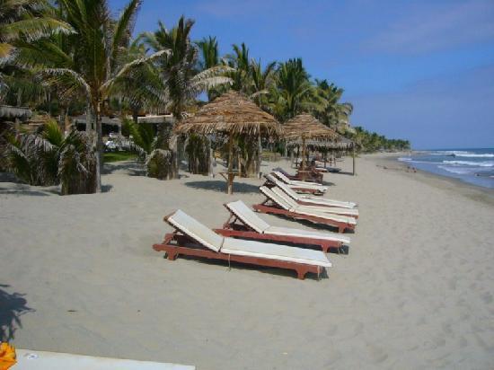 Hotel Las Pocitas: La playa