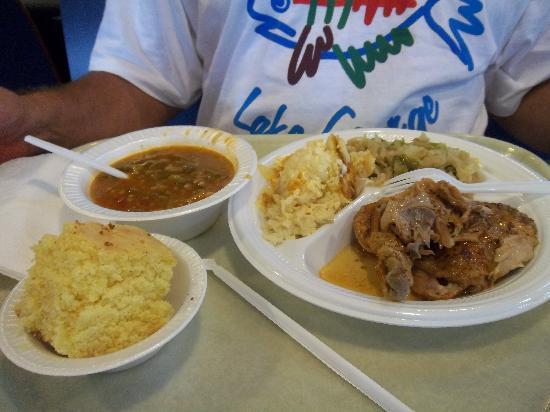 Bertha's Kitchen: Husband's meal