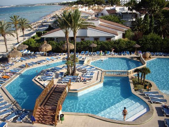 Hotel Condesa de la Bahia: Vista dalla ns. camera 2.