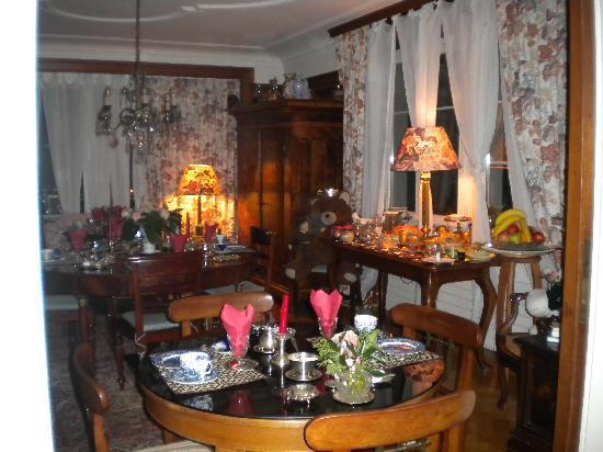 B&B Villa Magnolia: Sala della colazione