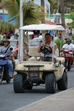Crown Paradise Club Cancun : Isla Mujeras Transportation