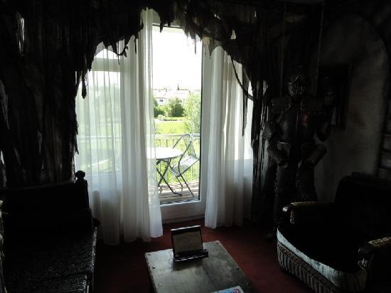 SI-Suites : Blick auf den Balkon...