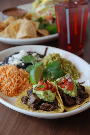 Border Grill : Try a variety of tacos on handmade corn tortillas hot off the griddle - carne asada (pictured ab