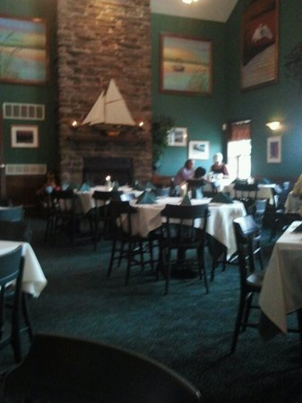 Oyster Bay Restaurant & Bar: Sorry it's a little blurry.  I didn't want to whip my camera out in such a nice restaurant, so I