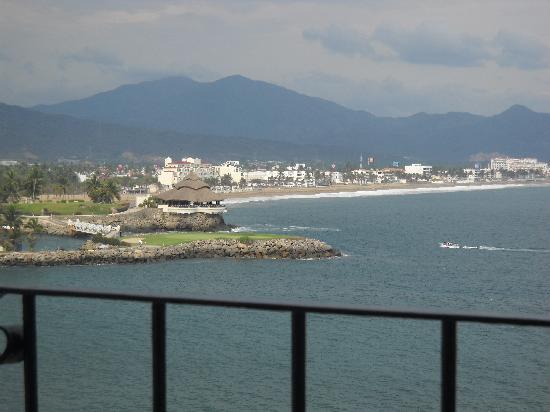 Hotel Dolphin Cove Inn: Vista del balcon del cuarto2