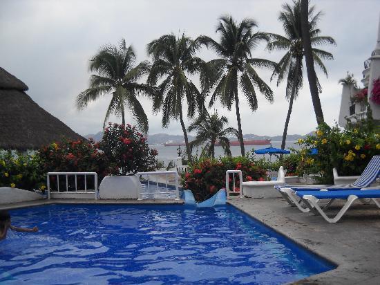 Dolphin Cove Inn : Vista alberca