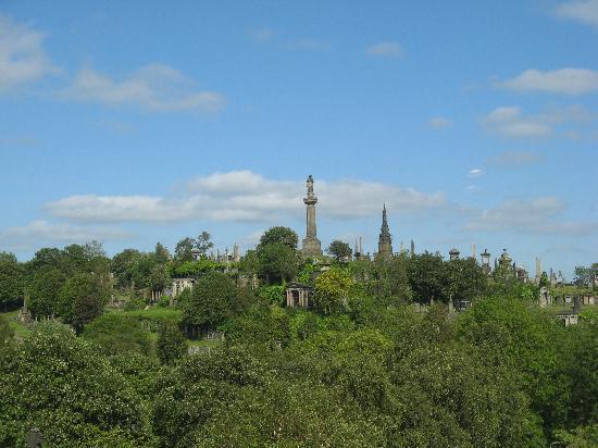 Szkocja, UK: Glasgow Necropolis