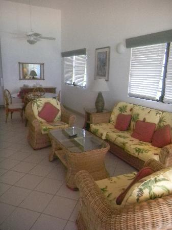 West End Village, Anguilla: Unit living and dining area