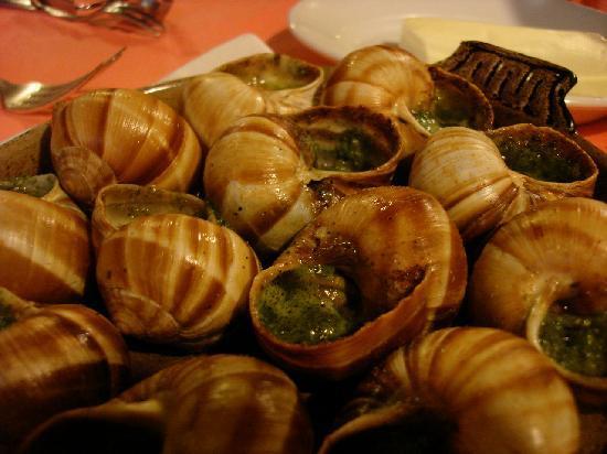 Chez l'Ami Louis : escargots
