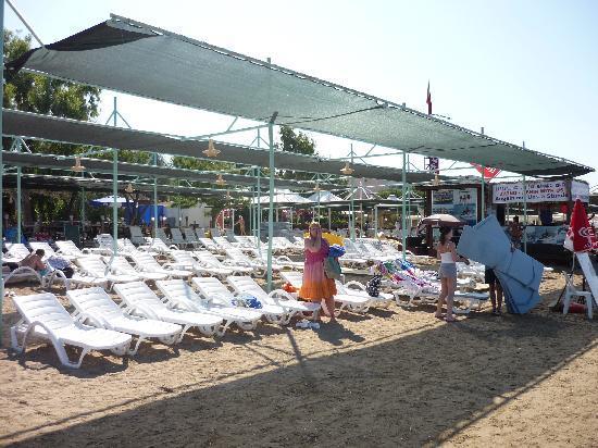 Lavitas Hotel: hotel beach