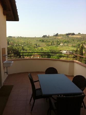 Antella Residence : terrazza