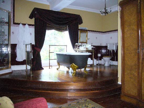 Austwick Hall: fabulous bathroom