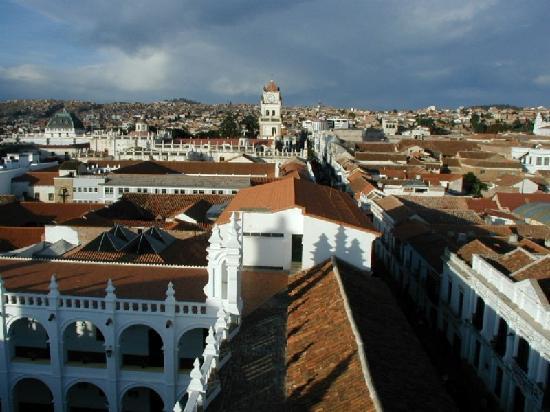 Vista de la ciudad de Sucre