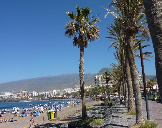 Playa de las Américas, España: Eindrücke an der Promenade