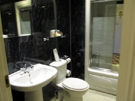Staindrop Lodge: sparkling bathroom