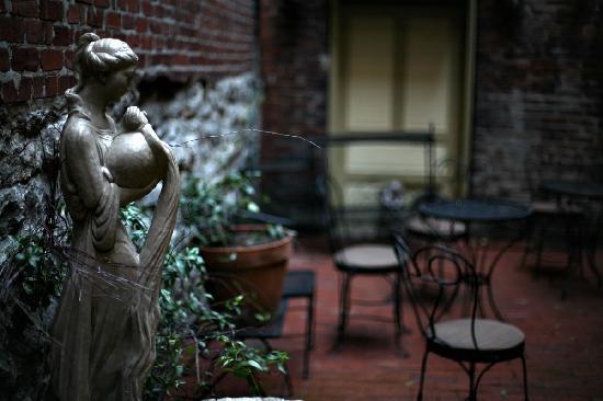 The Standard: Inner courtyard