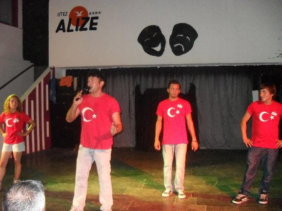 Alize Hotel: The guys who kept us entertained all holiday!