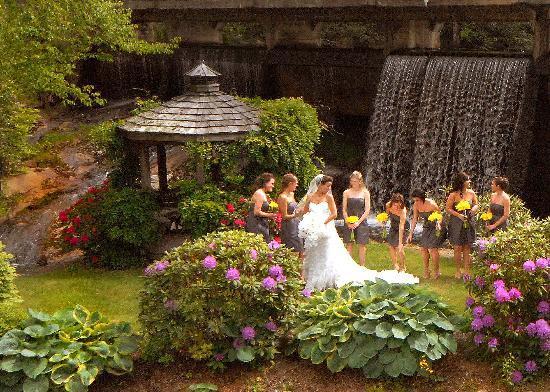 Chetola Resort at Blowing Rock: The Secret garden!
