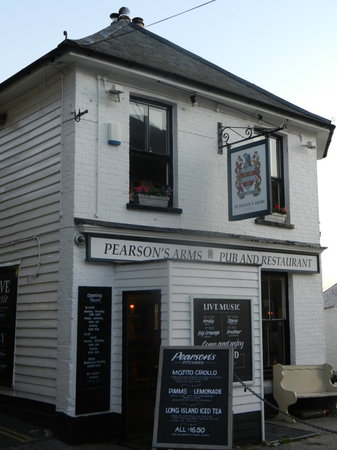 Pearson's Arms Restaurant: Pearson's Arms, Whitstable