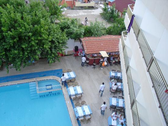 Hermes Hotel : swiming pool