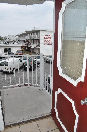 Seaside Heights, NJ: balcony