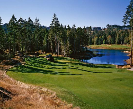 Bear Mountain Golf Resort - Valley Course: 13th Hole, Valley Course