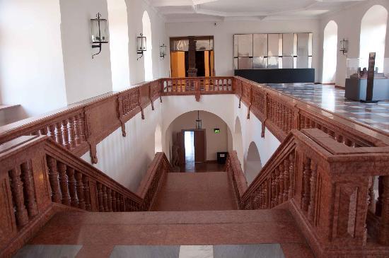 Schloss Johannisburg mit Schlossanlagen: Grand Staircase