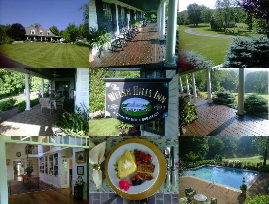 Granville, Οχάιο: Collage of The Welsh Hills Inn from Our Guest, Mindy Irish