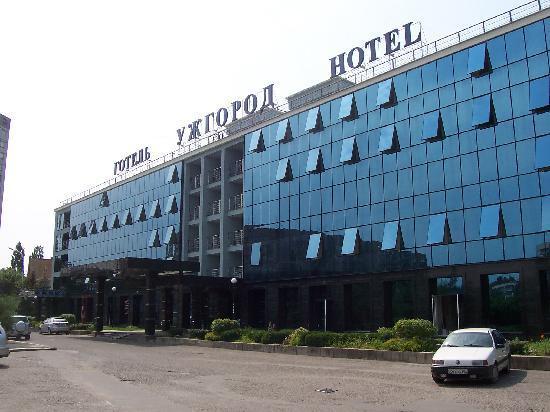 Uzhhorod, Ukraine : The hotel