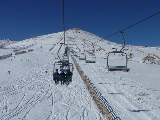 El Colorado Ski Center: Pista para iniciantes.