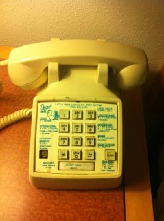 Desert Lodge: state of the art phone