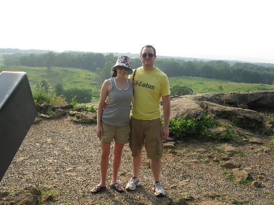 Gettysburg, PA: View from Little Round Top