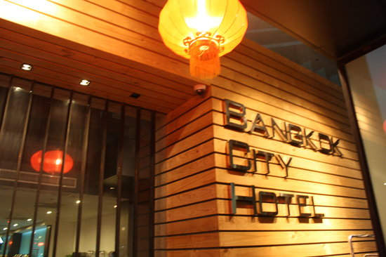 Bangkok City Hotel: a new hotel