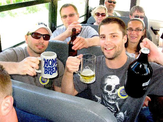 Craft Beer Bus LLC: Fun on the bus!