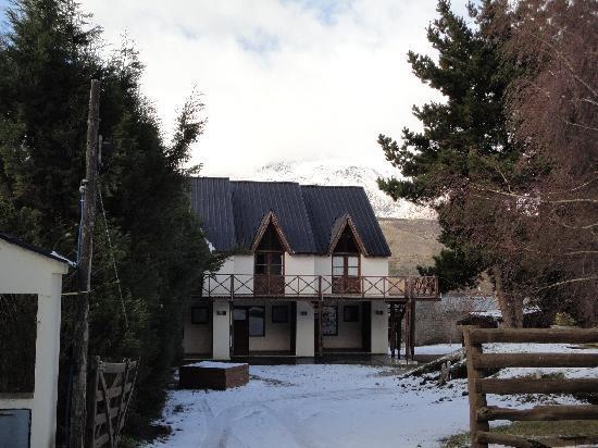 Altos del Faldeo: Frente del complejo nevado